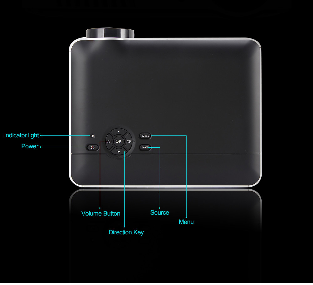 RD-806A 2800 Lumens Projector | Futureshopdeal.com